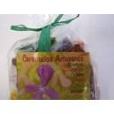 Caramelos Artesanos Eucalipto, tomillo, miel, fresa, romero