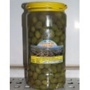"Aceituna verde machacada ""Partida"" 2.200kg"