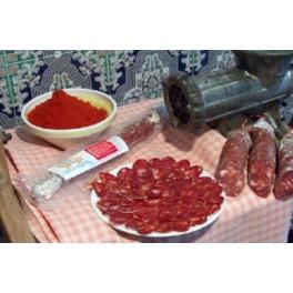 Chorizo Iberico Puro Bellota 2 Meses Curado Natural Und/350Gr.