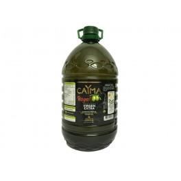 AOVE caYma cosecha propia D.O.P. Sierra de Cazorla Aceite de Oliva Virgen Extra garrafa 5L. litros variedad royal